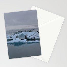 Beautiful glacial lake Jökulsárlón Stationery Cards