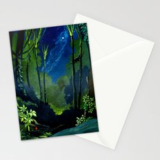 Silent Night in the New Zealand Forest Stationery Cards