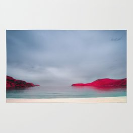 Infrared Beach - Arctic Norway Rug