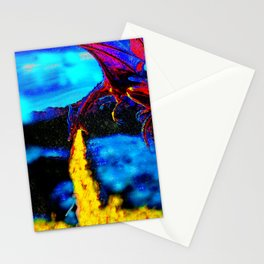 DRAGON BREATH FIRE BATH Stationery Cards