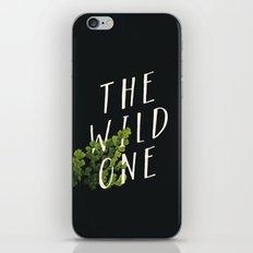 The Wild One iPhone & iPod Skin