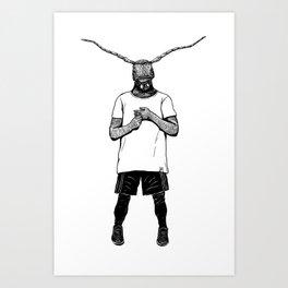 Maxilla Art Print
