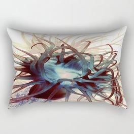 Sea anemone marine life ocean original artwork Rectangular Pillow