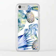 Bahamas - blue Clear iPhone Case