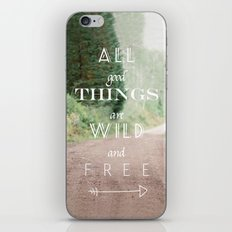 ALL GOOD THINGS iPhone & iPod Skin