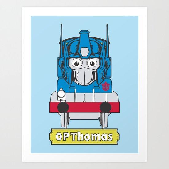 Opthomas Prime Art Print