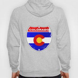 Colorado Interstate Sign Hoody
