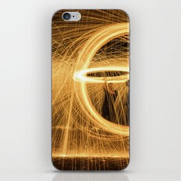 Circle of Fire iPhone Skin