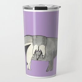Mom and Baby Anteater Travel Mug