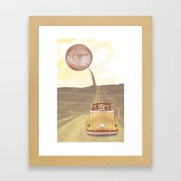 So long, Earth Framed Art Print