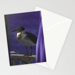 Purple Perception Stationery Cards
