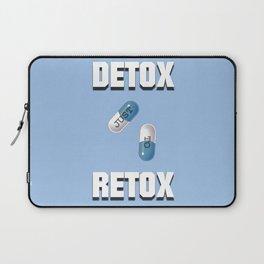 Detox Just To Retox Laptop Sleeve