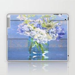 Rustic Hydrangea In Mason Jar Laptop & iPad Skin