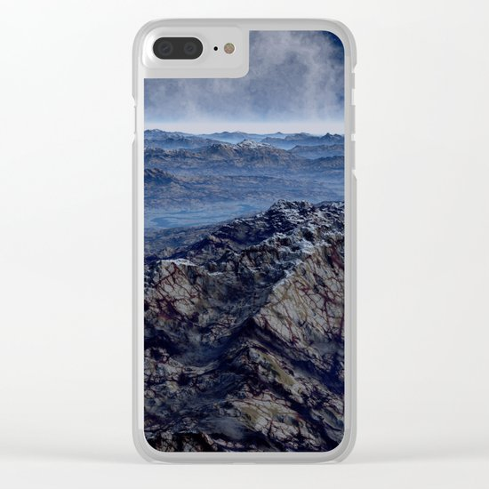 Welcome To Planet X Clear iPhone Case
