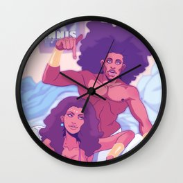 Samson and Delilah Wall Clock