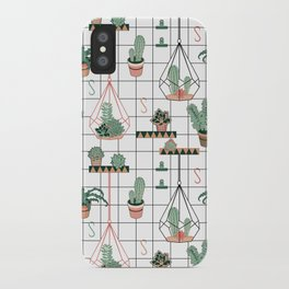 Modern Succulents iPhone Case