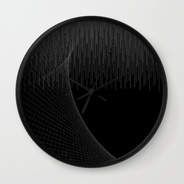 Matrix Void Wall Clock