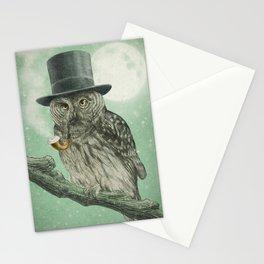 Night Smoke (Color Option) Stationery Cards