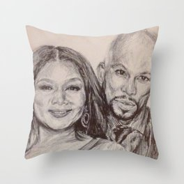 Living Single in a Common World Throw Pillow