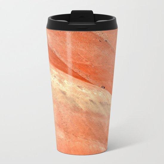 PAINTED HILLS - OREGON SUNSET Metal Travel Mug