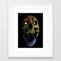 soul eater Framed Art Prints featuring Soul Eater by Doyle See
