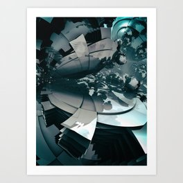 Meteor 56 Art Print
