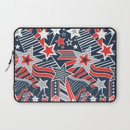 Patriotic Pattern Laptop Sleeve