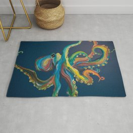 Colorful Octopus Rug