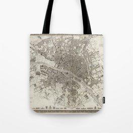 Paris 1860 Tote Bag