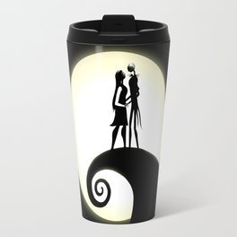 Jack Skellington & Sally Travel Mug