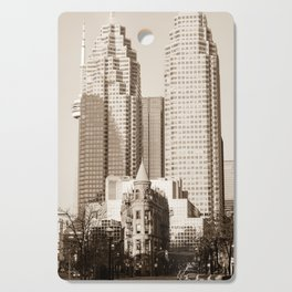 Toronto Flatiron Building Cutting Board