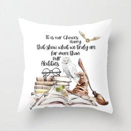 Our Choices Throw Pillow