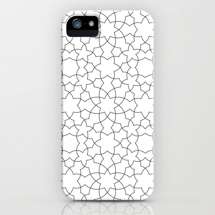 Minimalist Geometric 101 iPhone Case