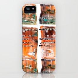 Autumn Cross iPhone Case