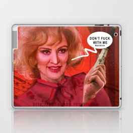 Don't fuck with the Lange Laptop & iPad Skin
