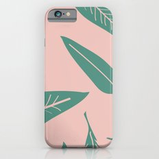 Leaves pink Slim Case iPhone 6s
