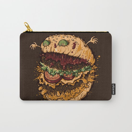 Monster Burger Carry-All Pouch