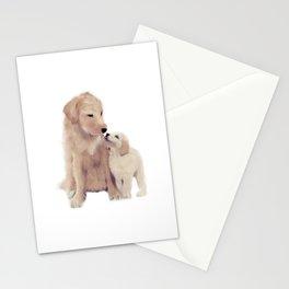 Golden retrievers Stationery Cards