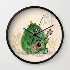 Monster Jam Wall Clock