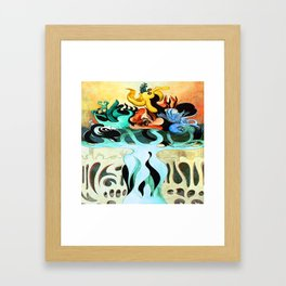 Jens Lund My Soul Floats on Perfume Framed Art Print