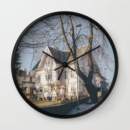 A house at the end of the world Wall Clock