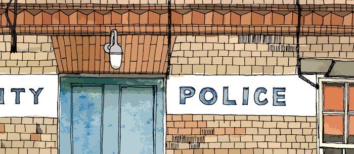 COUNTY POLICE Coffee Mug
