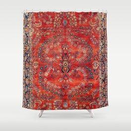 Sarouk Arak West Persian Carpet Print Shower Curtain