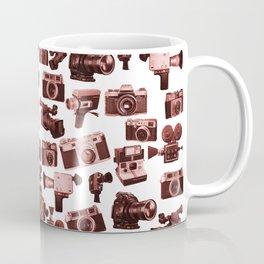 Cameras & Red Coffee Mug