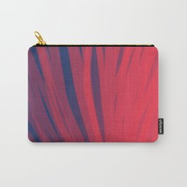 Fuschia and Midnight Blue-cc Carry-All Pouch