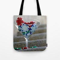 poker Tote Bags featuring Poker by smittykitty