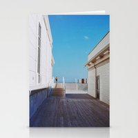 boardwalk empire Stationery Cards featuring Boardwalk by marisa ann