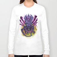 spawn Long Sleeve T-shirts featuring LONG LIVE THE QUEEN (color) by BeastWreck