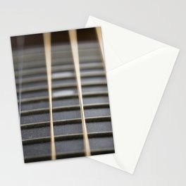 Guitar String Abstract 2 Stationery Cards