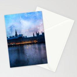 westminster-big-ben-w-england Stationery Cards